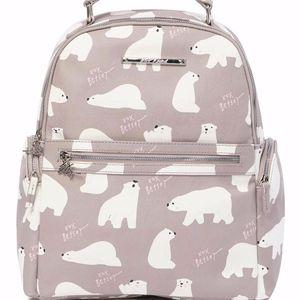 Betsey Johnson Polar Bear Print Backpack
